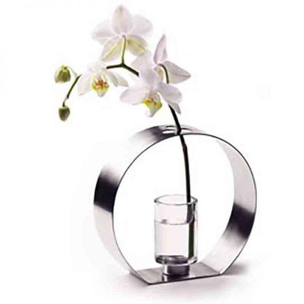 Decoratief vaasje voor 1 of 2 bloemen