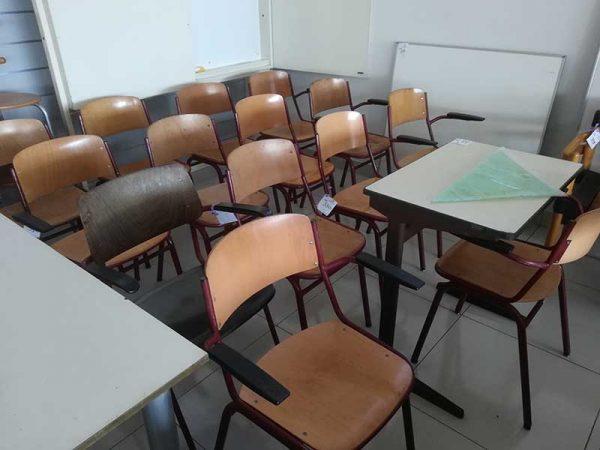 Tweedehandse schoolstoelen