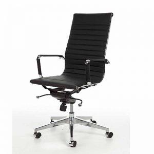 Bureaustoel voor directie met hoge rug