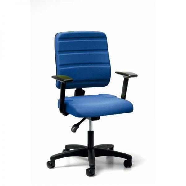 ergonomische bureaustoel met permanent contact