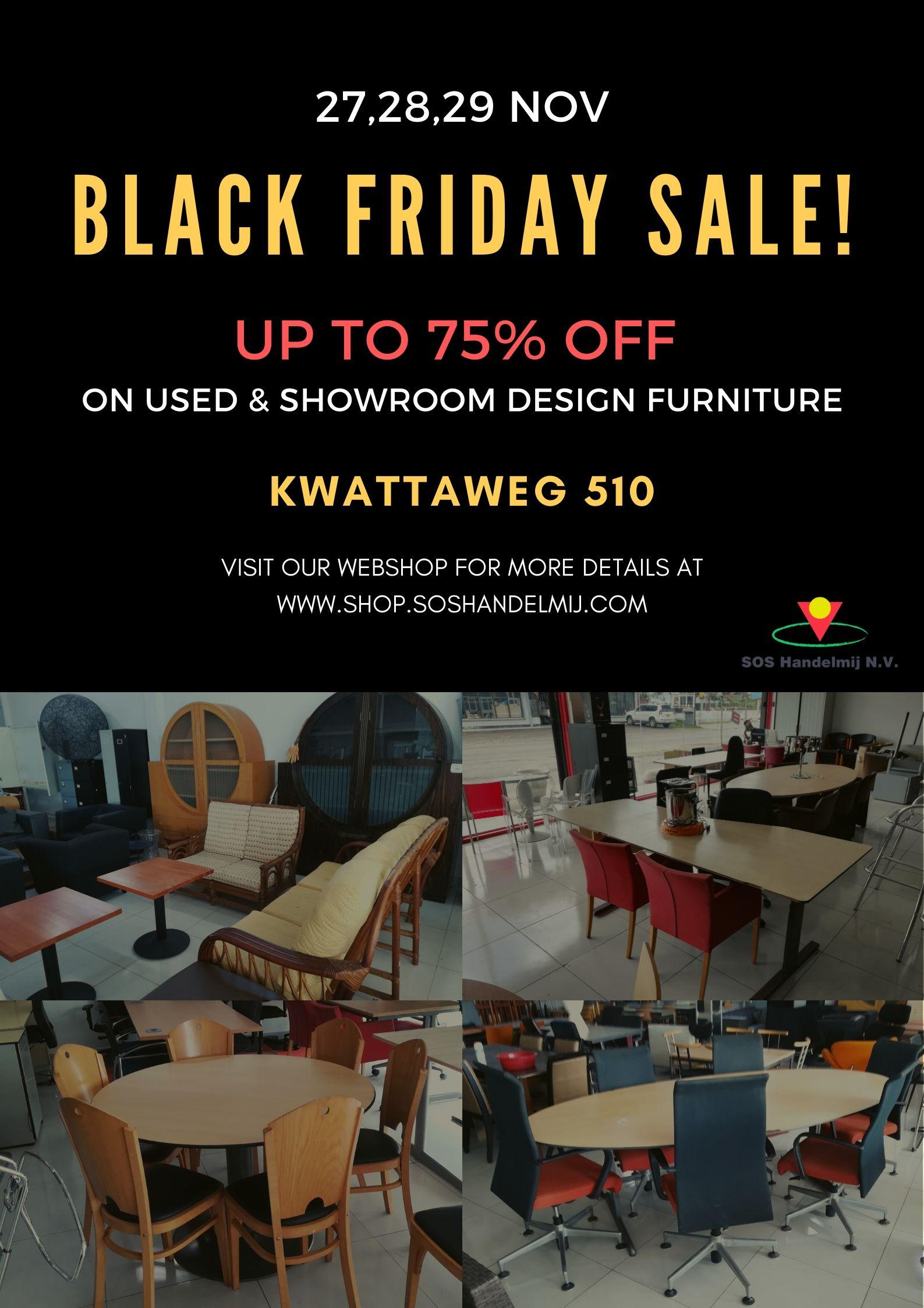 Black Friday Sale grote kortingen op meubilair