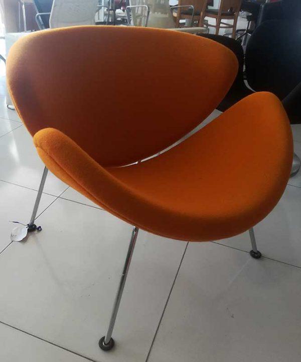Artifort Orange Slice fauteuil in oranje