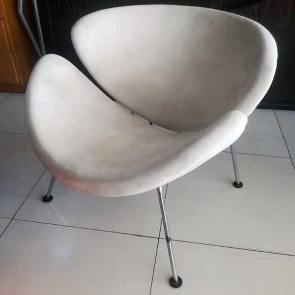 Artifort Orange Slice fauteuil in wit