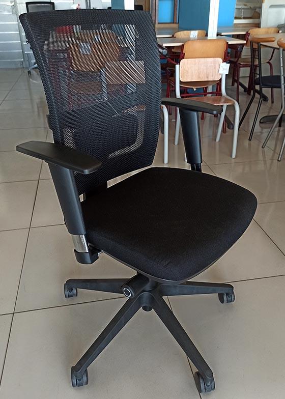 Markant ergonomische bureaustoel met netweave rug